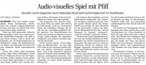 Birgit Jürgens, Hildesheimer Allgemeine Zeitung, 12.05.2015
