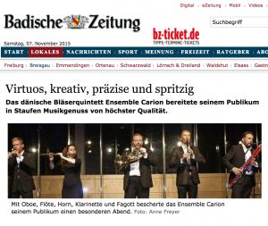 Anne Freyer, Badische Zeitung, 12.08.2015