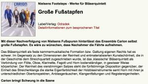 Tobias W. Pfleger, Klassik.com,  15.02.2016