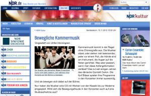 Ulrike Henningsen, NDR Kultur, 15.11.2013