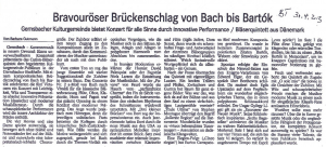 Barbara Gutmann, Badisches Tagblatt, 30.04.2013